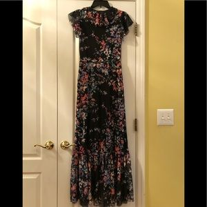 NWT Apt 9 Floral Maxi Dress Size Small